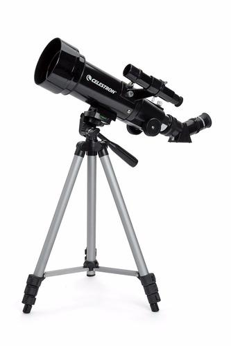 maravilloso telescopio travel scope celestron de 70mm. ee.uu
