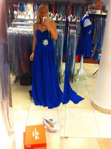 maravilloso vestido de fiesta