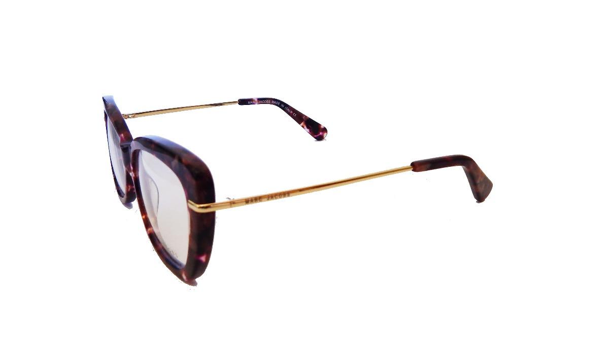 28ecf361afa8e Carregando zoom... armação óculos de grau feminino gatinho marc jacobs  perola