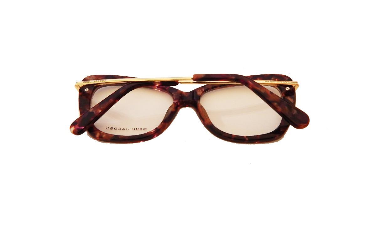 263c99c20b79b Carregando zoom... 3 armação óculos de grau feminino gatinho marc jacobs  perola