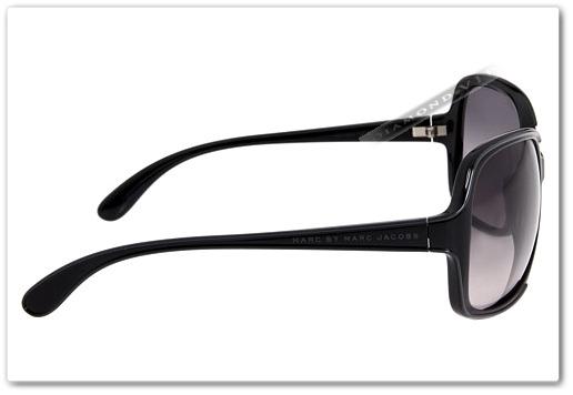 marc jacobs óculos sol · original óculos de sol feminino marc jacobs preto  grande 84b4c88586