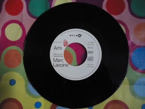 marc lavoine lp 45 rpm ami 1989