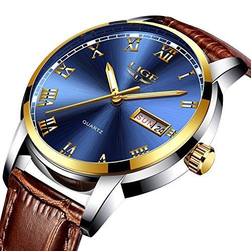 Los Fecha Cuarzo Hombres Marca Relojes Reloj Automática Lujo xsCtdhrQ