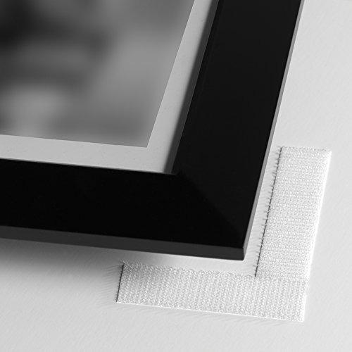 marca velcro - parte posterior adhesiva - tiras de 3 1/2  x