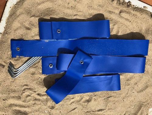 marcação voley de praia