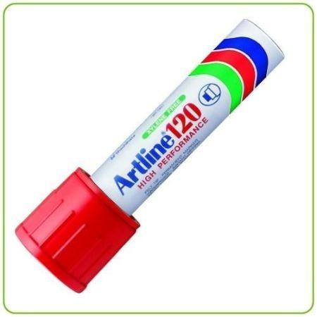 marcador artline ek-120 tinta permanente ancho 2cm