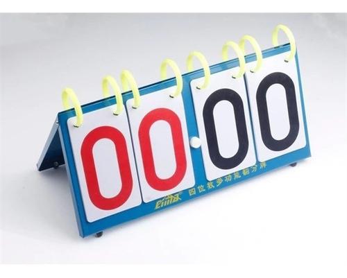 marcador contador de pontos em metal placar tenis mesa voley