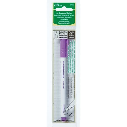marcador de tinta soluble en agua color violeta punta extra