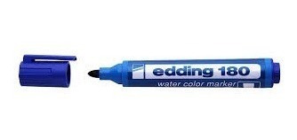 marcador edding 180 fibron al agua