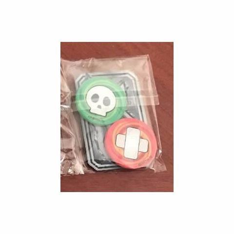 marcador gx + condições especiais kit em acrílico  - pokémon
