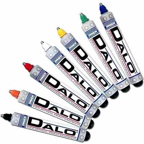 marcador industrial para metal dalo marker todos los colores