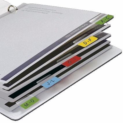 marcador páginas maxi tabs branco - blister com 16 unds