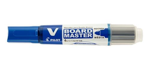 marcador para quadro branco vbma-vbm-m board master azul pil