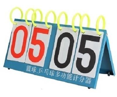 marcador placar contador manual pontos metal multi esporte