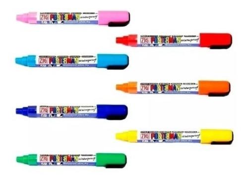marcador pma-50 posterman colores surtidos precio por unidad