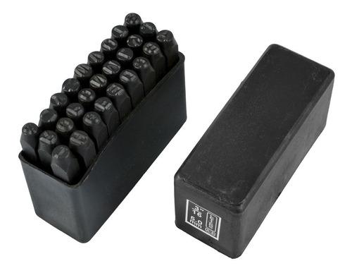marcador punção alfabeto de aço gravação 5mm 27pcs eda 4oq