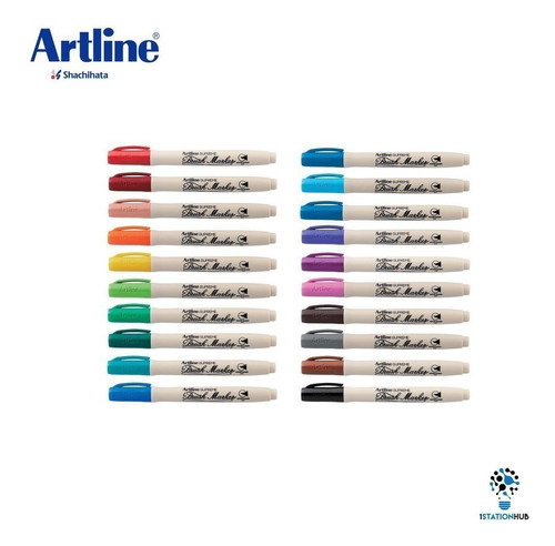 marcador punta de pincel brush maker
