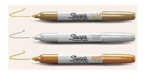 marcador sharpie fino metalizado - distribuidor oficial