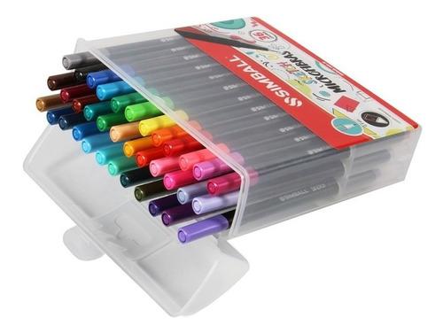 marcador simball sketch 0,4mm x36 colores