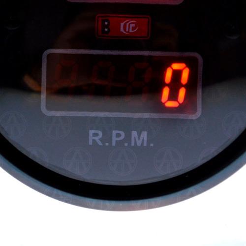 marcador tacómetro medidor volts y rpm digital 3