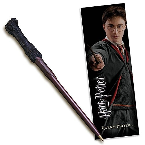 marcador y pluma de la varita de harry potter- envío gratis