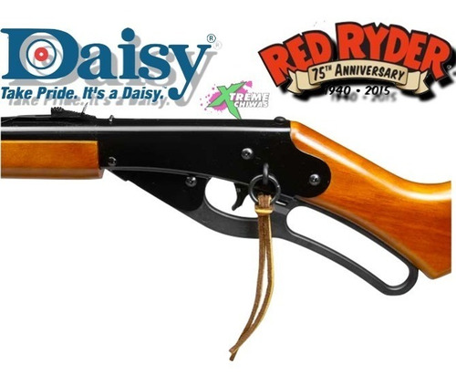 marcadora daisy red ryder 1938 rifle 350 bbs .177 xtreme