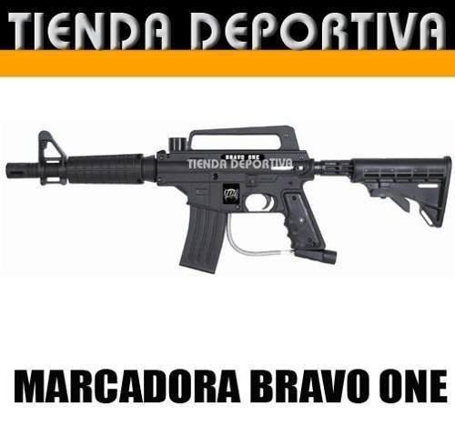 marcadora tippmann bravo one(alpha black) kit