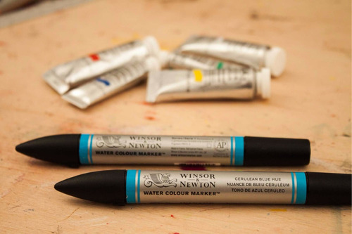 marcadores de acuarela winsor and newton brush punta pincel