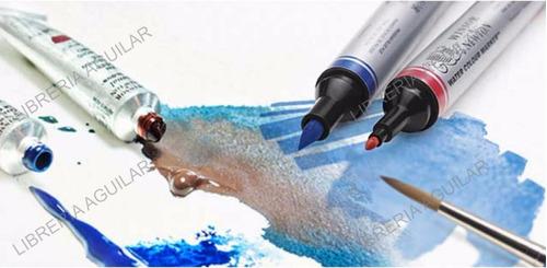marcadores de acuarela winsor & newton brush punta pincel
