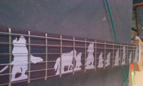 marcadores de escala guitarra violão senhor dos anéis