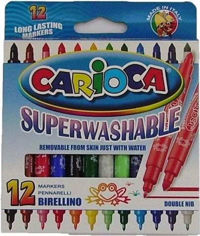 marcadores doble punta carioca x12 - tienda oficial