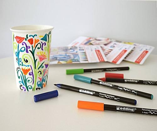 marcadores edding 4200 para porcelana 3 estuches oferta