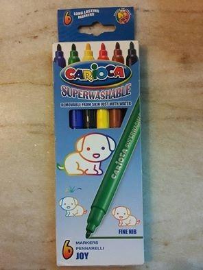 marcadores finos carioca x6 - tienda oficial