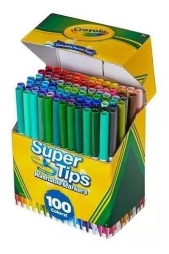 marcadores lavables crayola