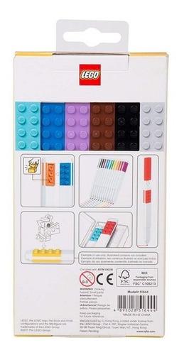 marcadores lego 12 pack