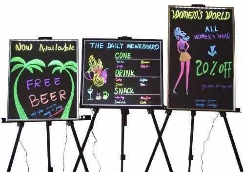 marcadores para pizarra led-nuevos-divertidos colores