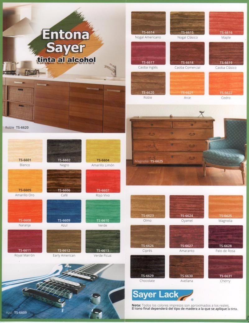 Marcadores para retocar tus muebles de madera pack de 4 - 4 opciones para restaurar muebles de madera ...
