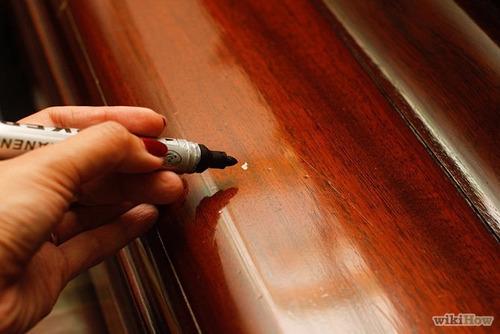 marcadores para retocar tus muebles de madera (pack de 4)