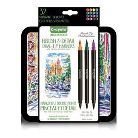 Marcadores Plumones Artisticos Doble Punta Crayola 32 Colore