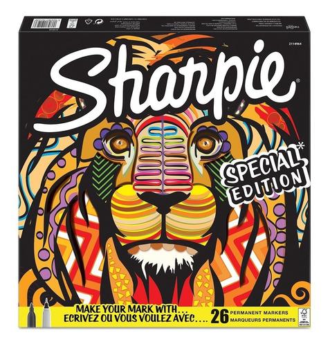 marcadores sharpie  x 26 leon 20 finos 6 ultrafinos