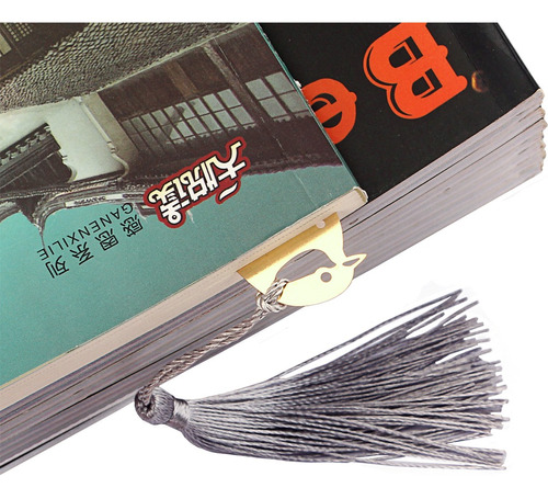 marcalibros de metales etiquetas de libros papelerías
