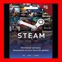 Tarjeta Steam Wallet Card $5 Usd Oferta !!!