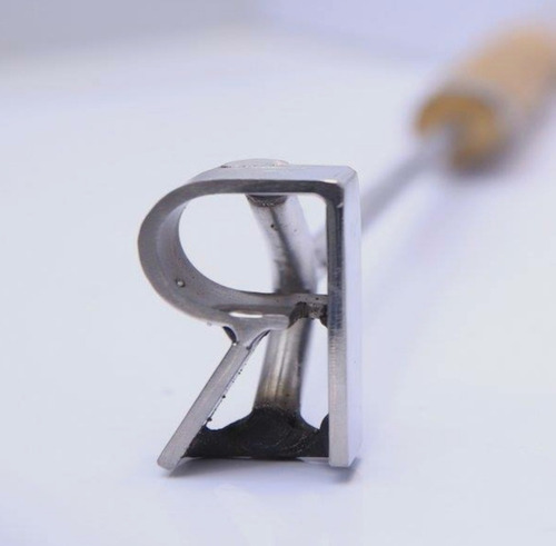 marcas de ferro em inox
