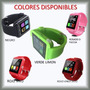 Reloj Inteligente Smartwatch Bluetooth Tactil Gratis Envio!!