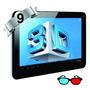 Tablet Silver Max Doble Sim 3g Gafas 3d Bluethoot 9 4 Nucle