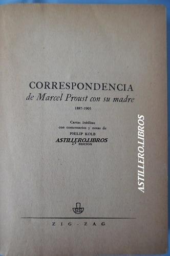 marcel proust- correspondencia con su madre- p. kolb