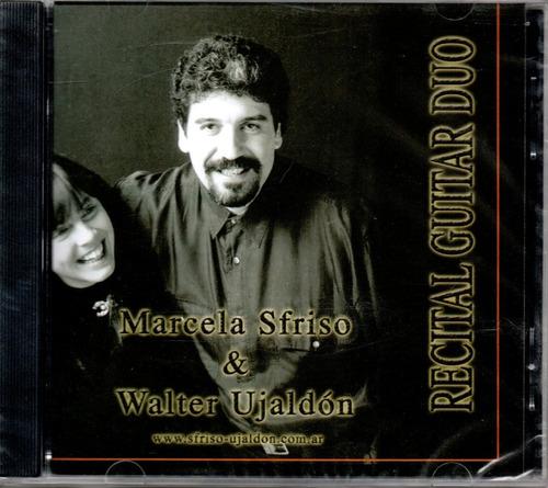 marcela sfriso & walter ujaldón recital guitar duo
