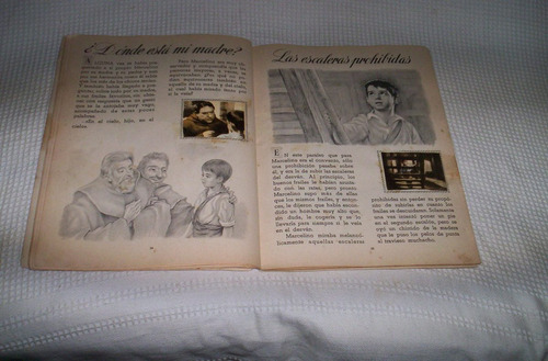 marcelino pan y vino album de cromos editorial fher 1957..
