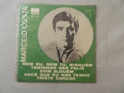 marcelo costa 1969 nem eu, nem tu, ninguém - compacto ep 75