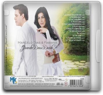 marcelo dias e fabiana - quando deus decide - cd - mk music
